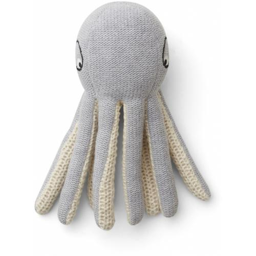 Ole knit mini teddy - Octopus grey melange