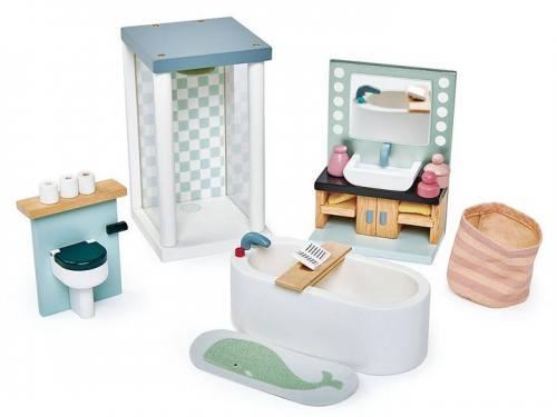 Dockhusmöbler badrum