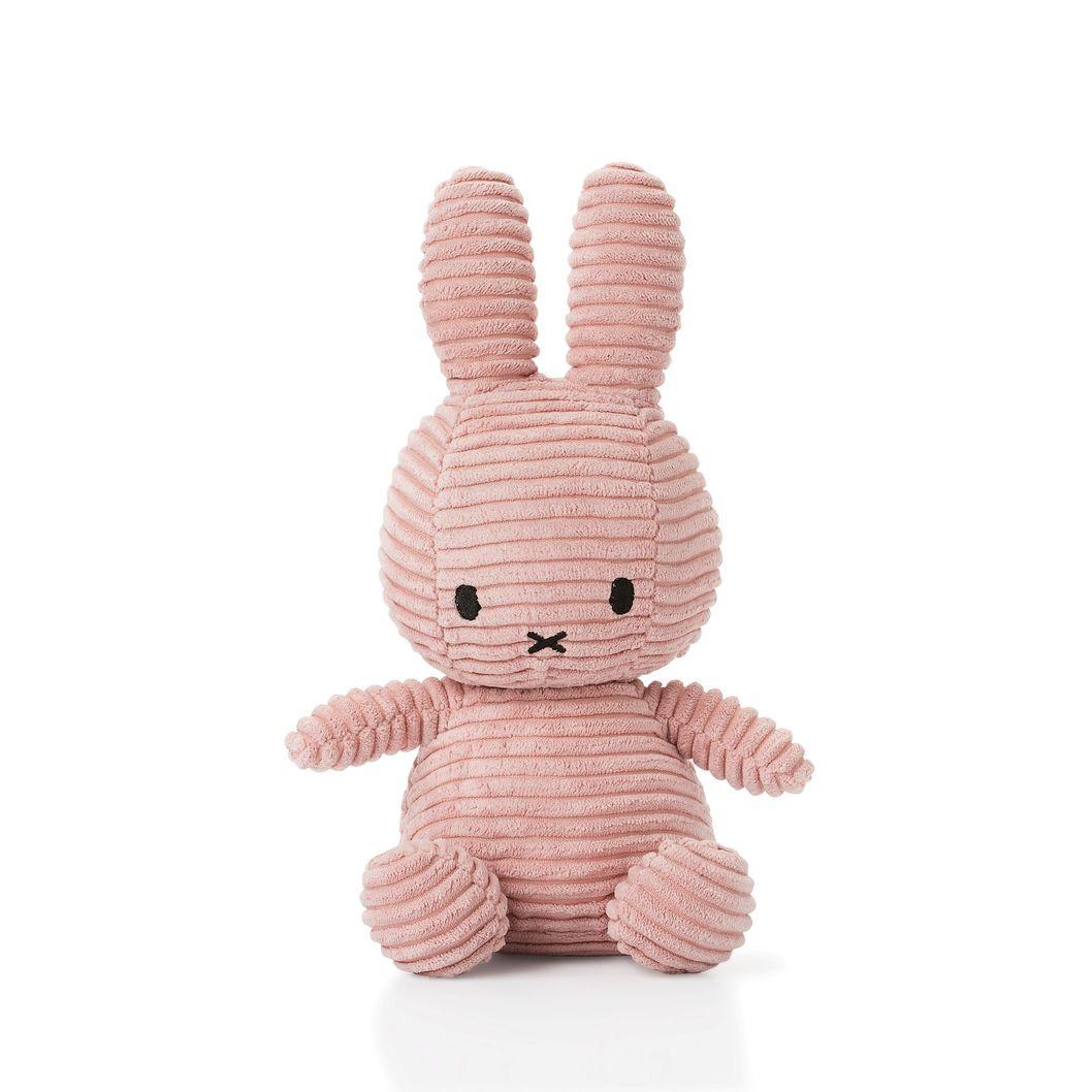 Miffy Corduroy 23cm rosa