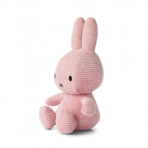 Miffy Corduroy 33cm rosa