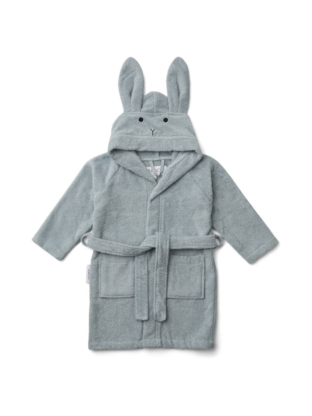 Lily bathrobe - Rabbit blue sea
