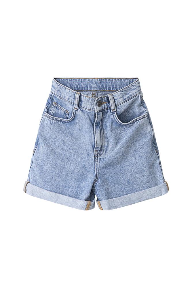 Mia shorts med hög midja