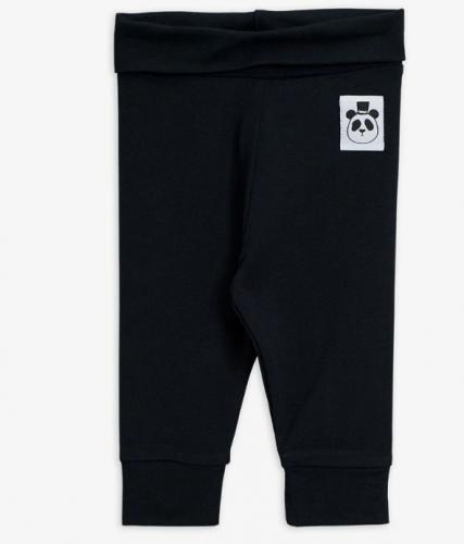 Basic svarta newborn leggings