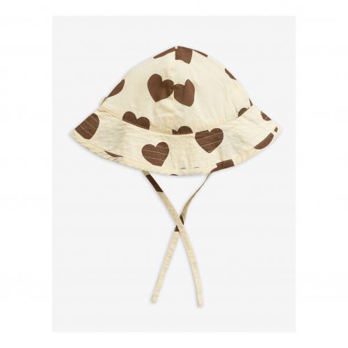 Hearts sun hat