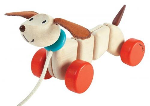 Dragleksak - happy puppy