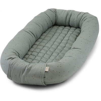 Babynest deluxe - Mille Marine French Blue