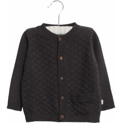Knit Cardigan Ray - Ink