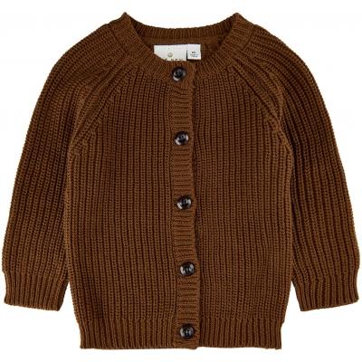 Tnalex Knit Cardigan - Toffee