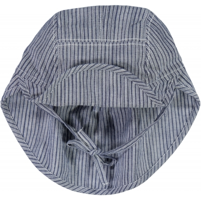 Solhatt / Keps Baby - Cool Blue Stripe