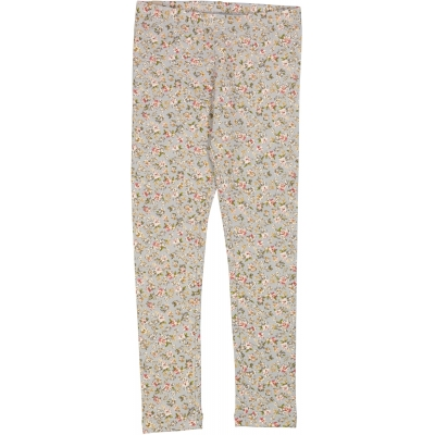 Jersey Leggings - Dusty Dove Flowers