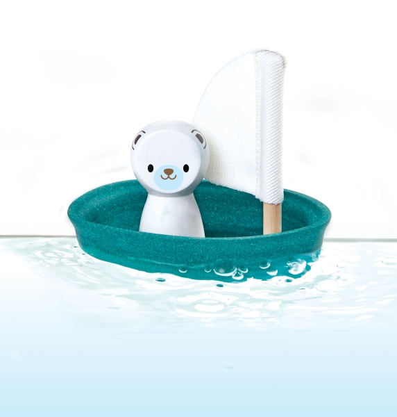 Segelbåt polar bear