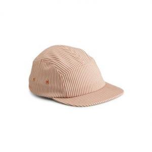 Rory Cap - Stripe: Tuscany rose/sandy