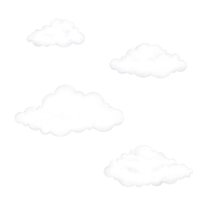 Stickstay - clouds white