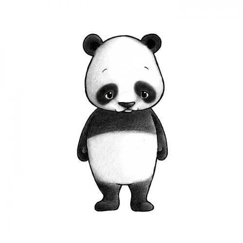 Stickstay - panda