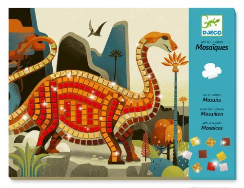 Mosaik - dinosaurier