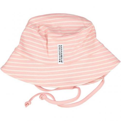 Solhatt rosa/beige