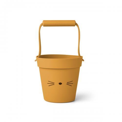 Linda bucket - Cat yellow mellow