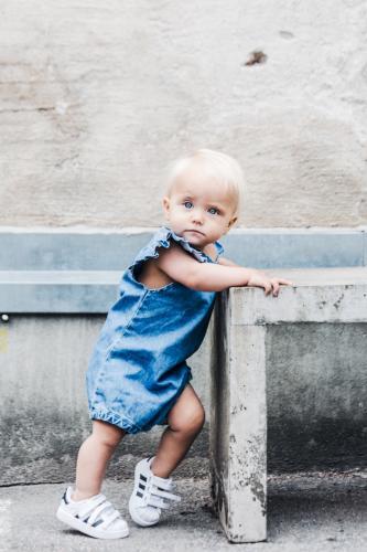 Darla jumpsuit, blue