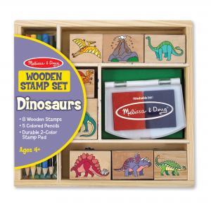 Stämplar, dinosaurier