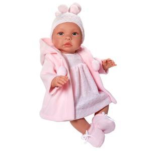 Leonora, Pink duffel coat 46 cm