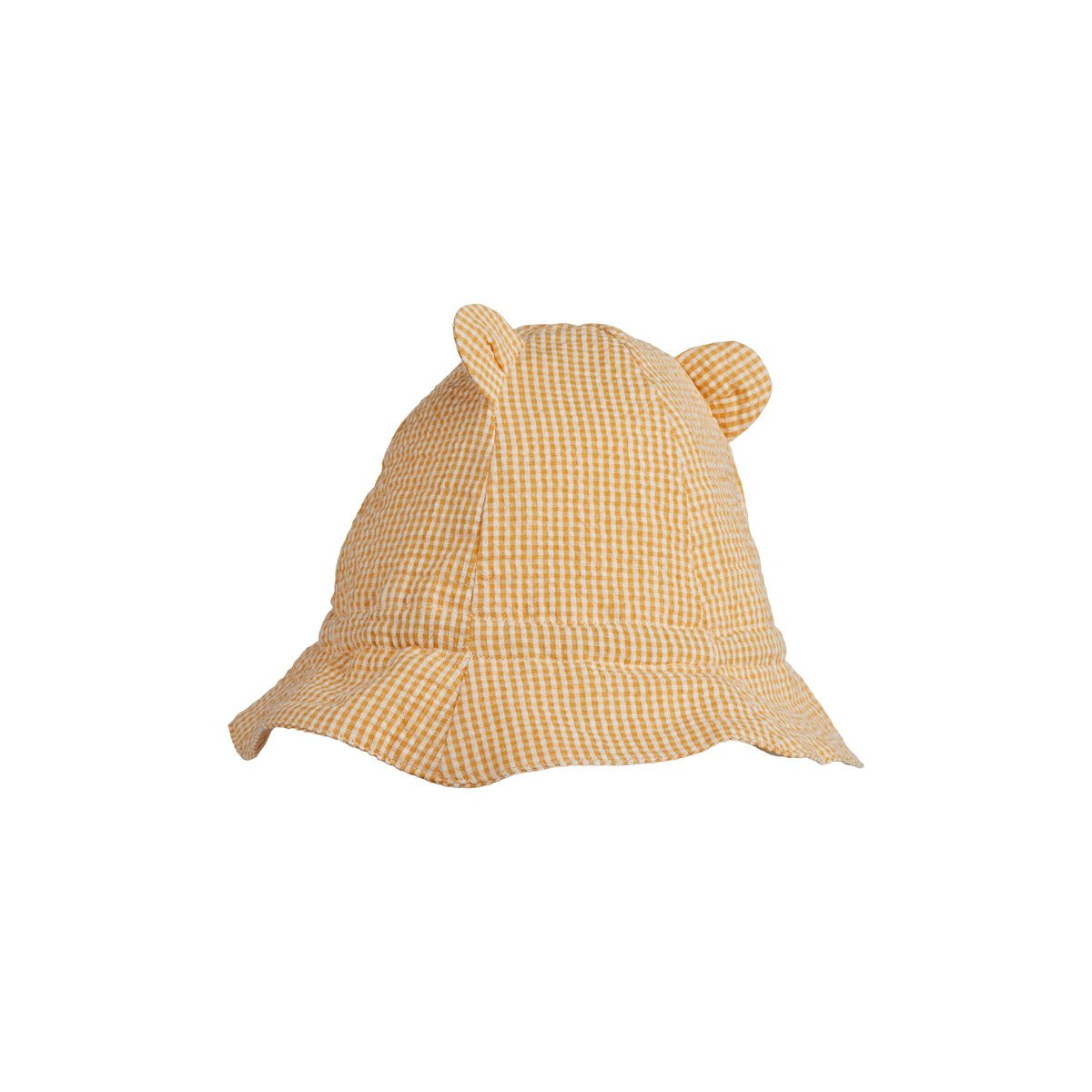 Anders sun hat - Yellow mellow/ecru