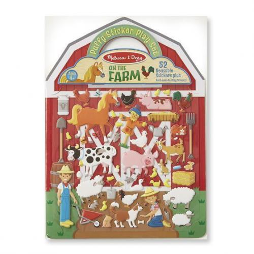 Puffy stickers Farm