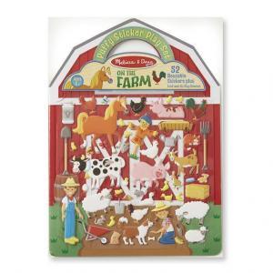 Puffy stickers Farm