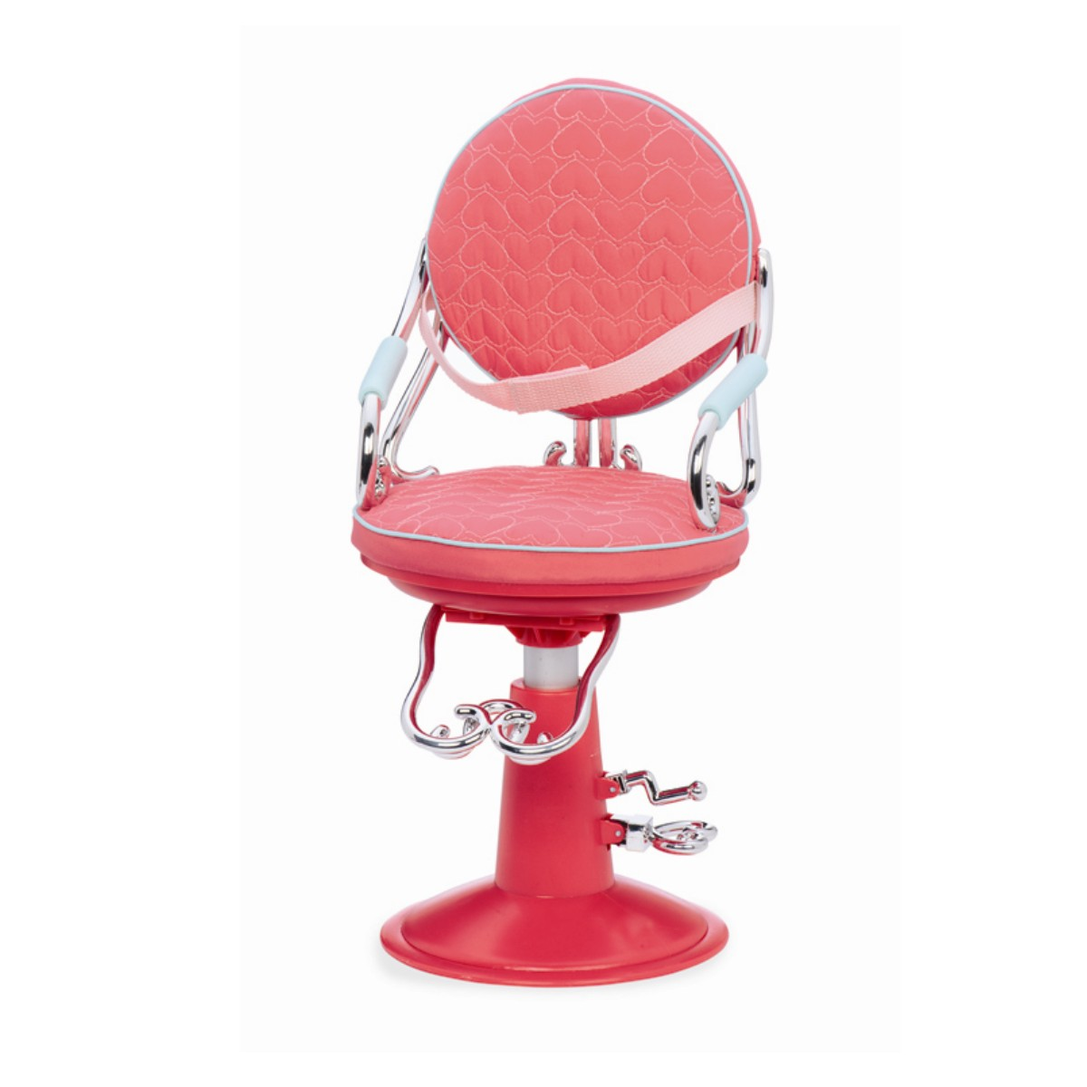 Frisörstol rosa
