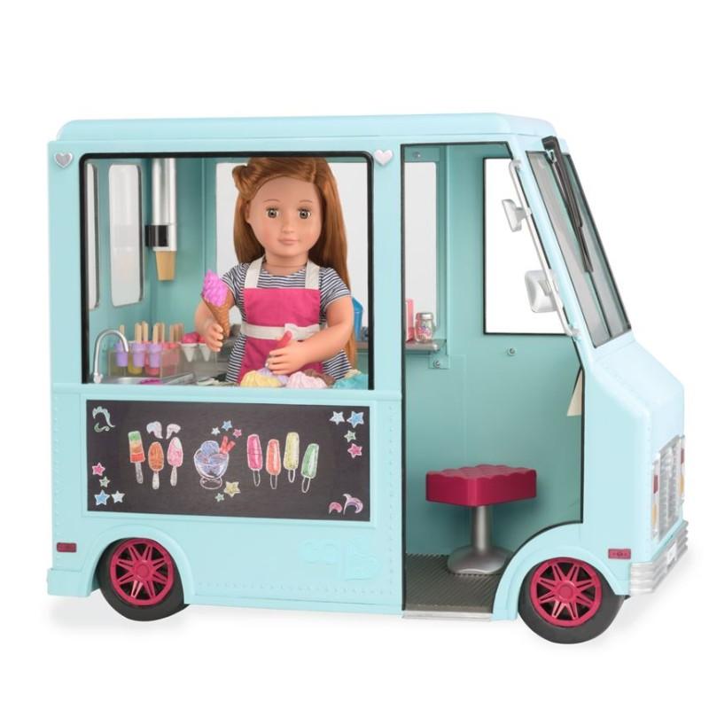 Ice cream truck, turkos