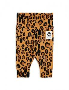 Basic leopard Newborn leggings