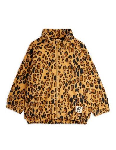 Leopard fleecejacka