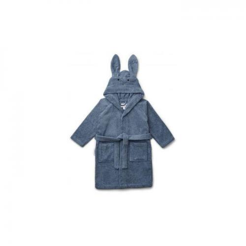 Lily bathrobe - Rabbit blue wave