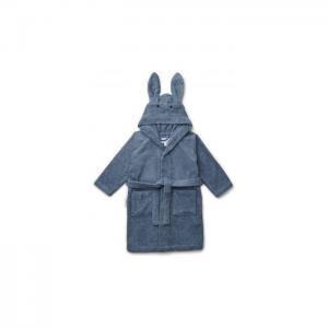 Lily bathrobe - Rabbit blue wave