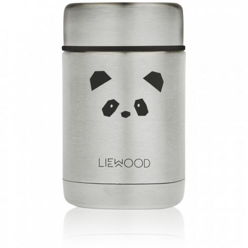 Nadja food jar - Panda stainless steel