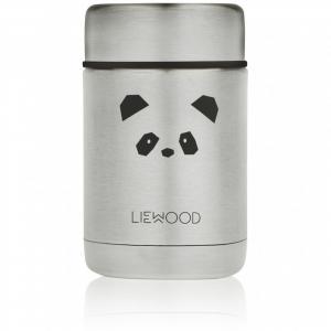 Nadja food jar - Panda stainless steel