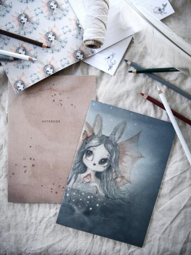 Notebook 2-pack, Miss Bianca