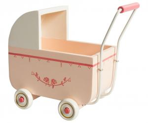 Pram, light pink, for Micro