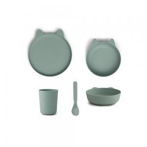Paul tableware set - Rabbit peppermint