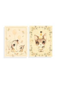 2-Pack Kort Ellie & Meow