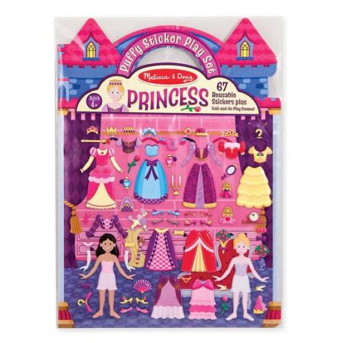 Puffy stickers, prinsessor