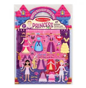Puffy stickers, prinsessor