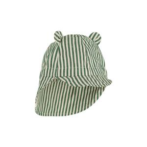 Solhatt Gorm - Garden Green / Sandy stripe