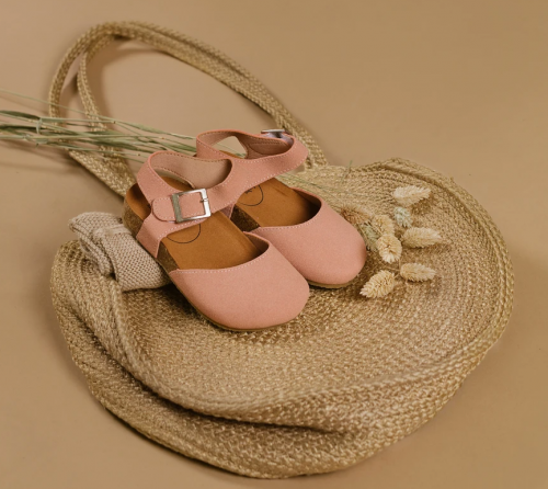 BabyMocs - Astrid sandal dust pink