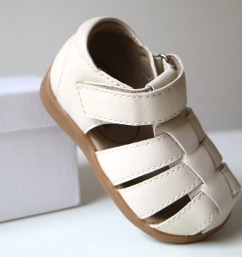 BabyMocs - Little gardener sandal light beige