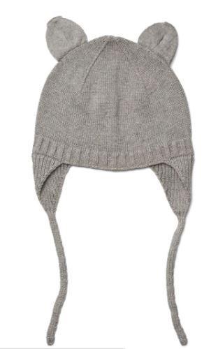 Violet bonnet - grey melange