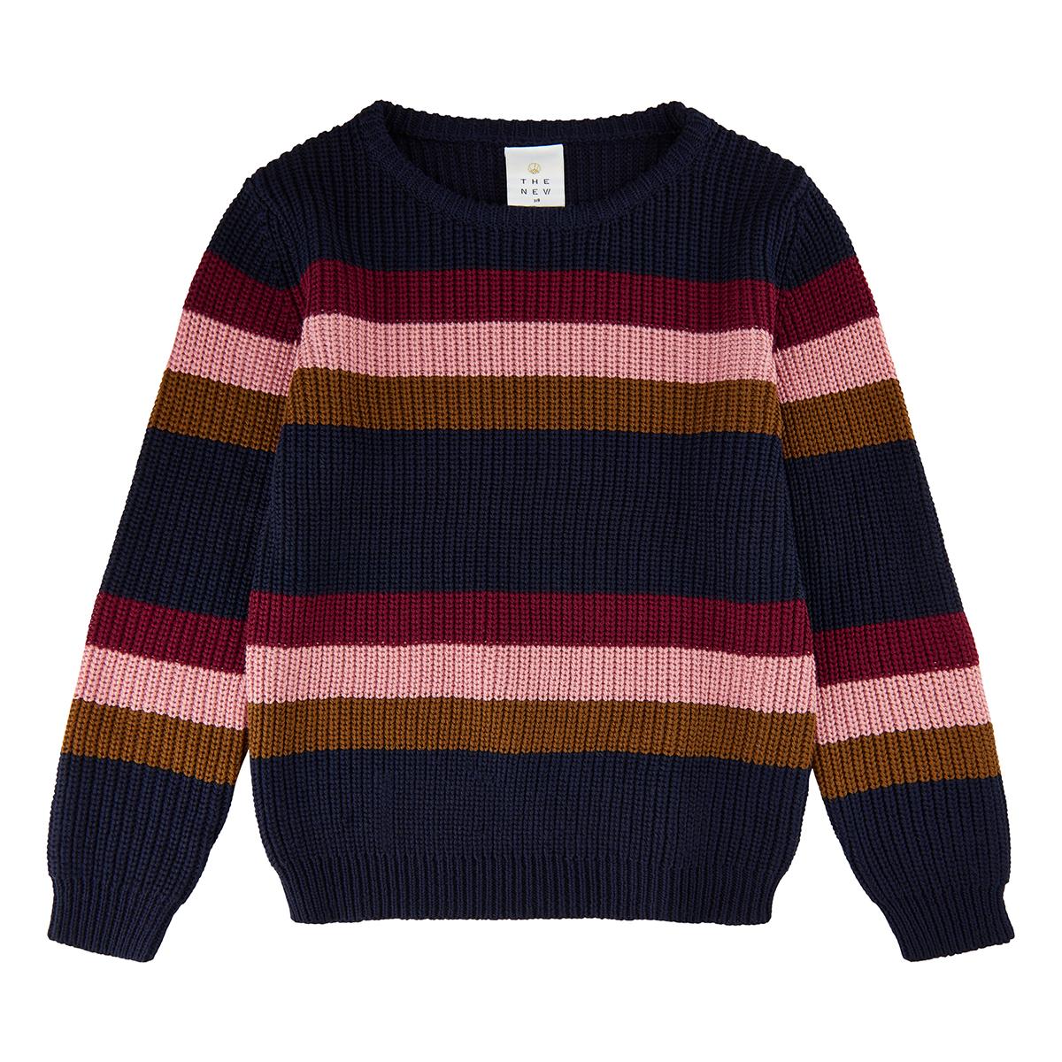 Tnvisma Stickad Pullover - Marinblå Blazer