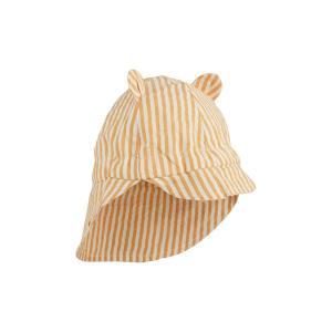 Solhatt Gorm - Mustard / White Stripe