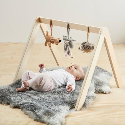 babygym i trä - neutral