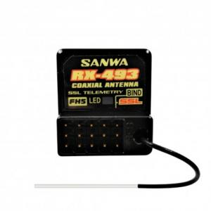 RX-493 Sanwa Mottagare SSLFH5 (SSL Funktion)