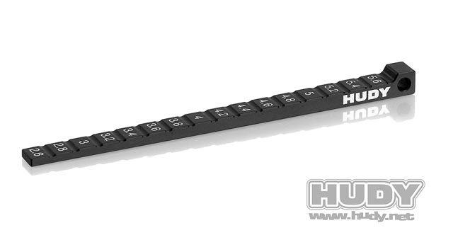 Frigångsmätare 2.6-5.6mm för 1/12 & 1/10 Hudy